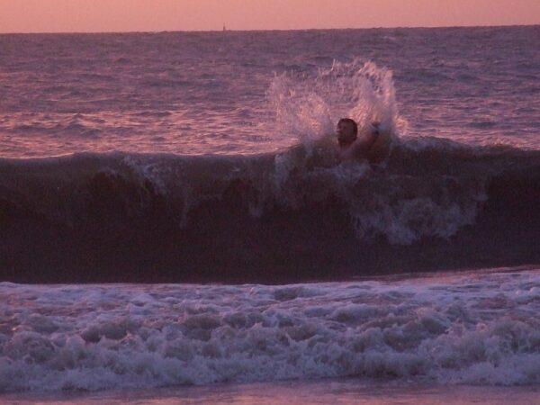 Die perfekte Welle?! Sicher nicht.
