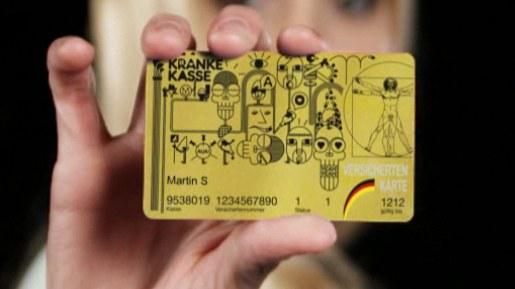 Bling-Bling-Versichertenkarte